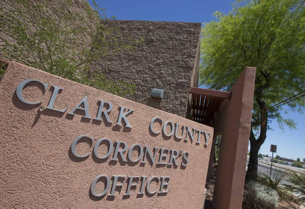 Oficina del forense del condado de Clark (Richard Brian / Las Vegas Review-Journal) @vegasphotograph