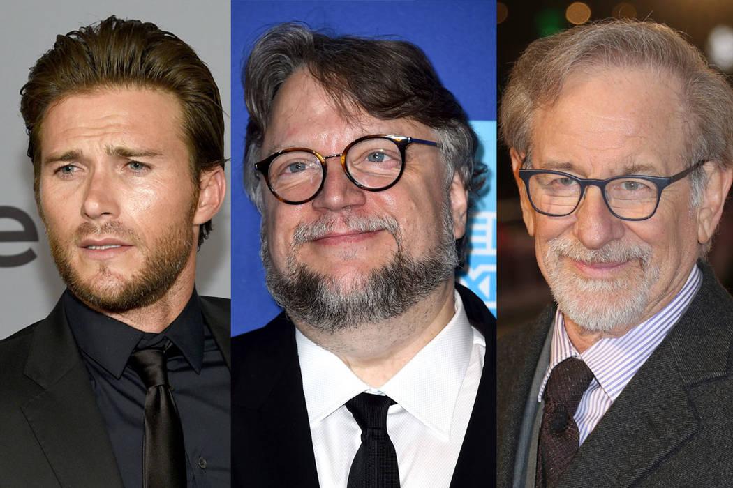 Clint Eastwood, Steven Spielberg y Guillermo del Toro. | Fotos AP