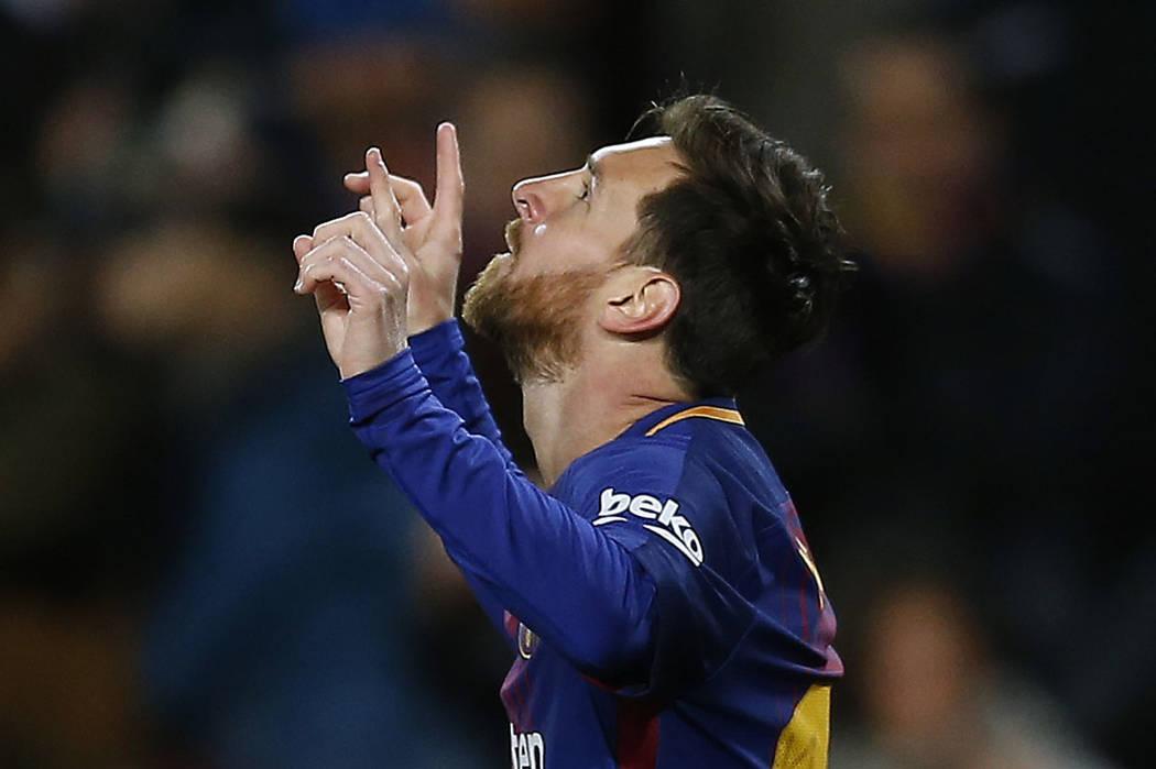 Lionel Messi.   Foto AP/Manu Fernandez.