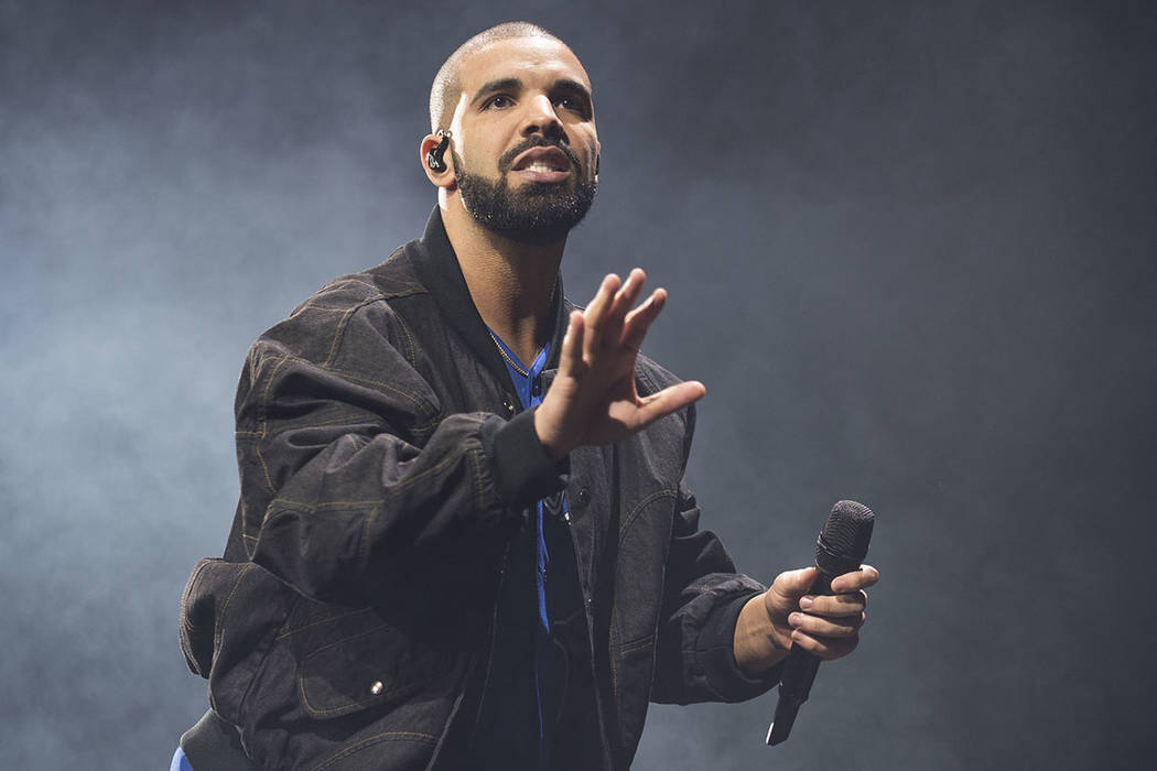 Drake.  Foto Arthur Mola/Invision/AP.