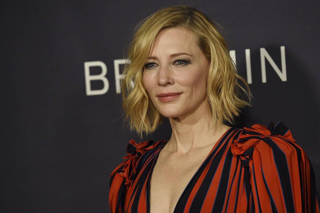 Cate Blanchett.   Foto Chris Pizzello/Invision/AP.