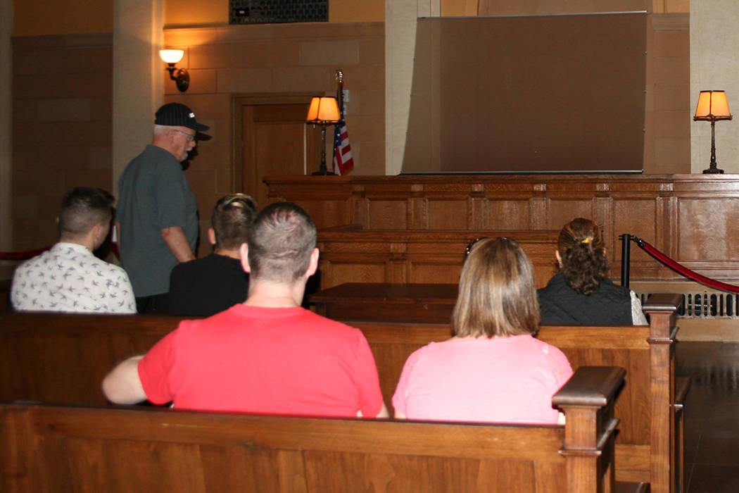 Las pláticas del Foro de Seguridad se dan en el Courtroom (sala de audiencias) del Museo de la Mafia. | Foto Valdemar González /El Tiempo Archivo.