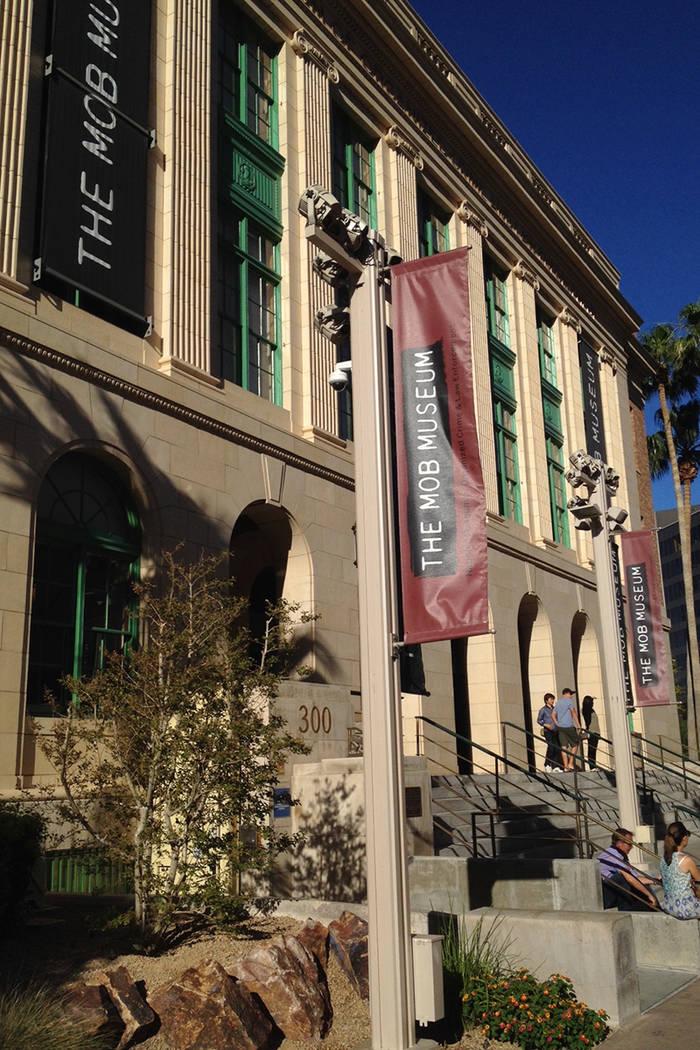 El edificio sede del 'Mob Museum' en Stewart Avenue, en el centro de Las Vegas. | Foto Valdemar González /El Tiempo Archivo.