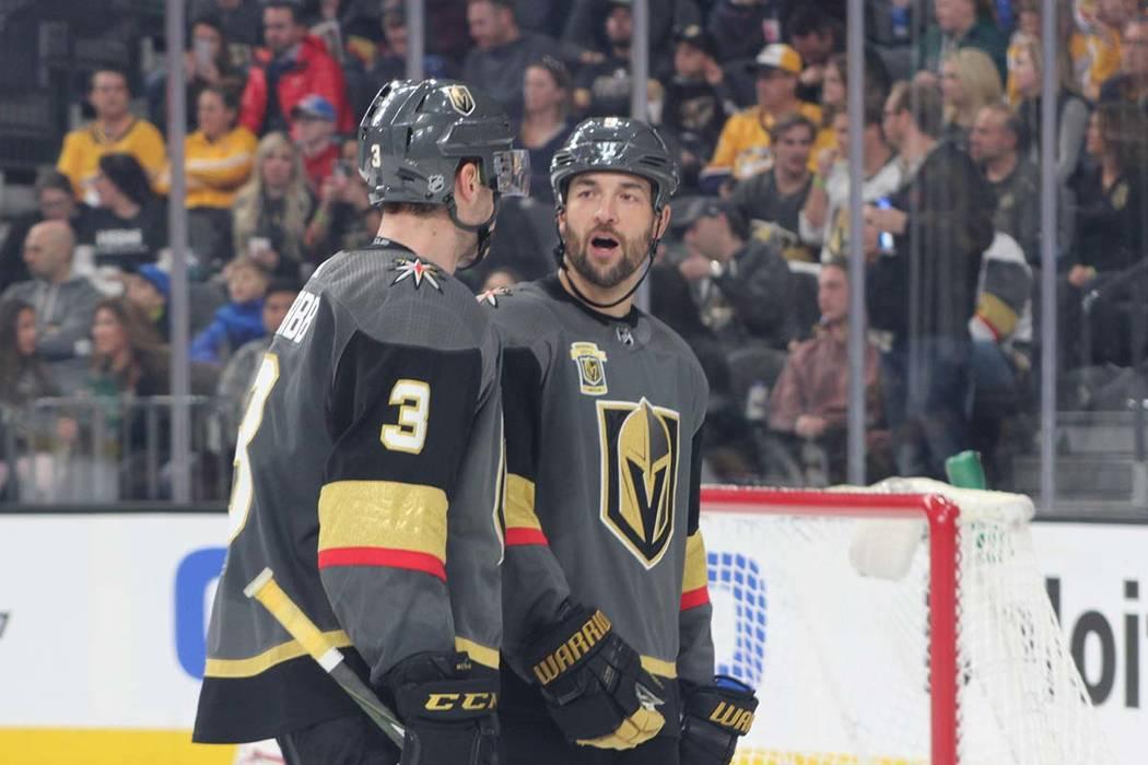 Los Caballeros Dorados están rompiendo todos los récord de equipos novatos en la NHL. Fotos, domingo, enero 6, 2018. T-Mobile Arena. | Foto Cristian De la Rosa / El Tiempo.