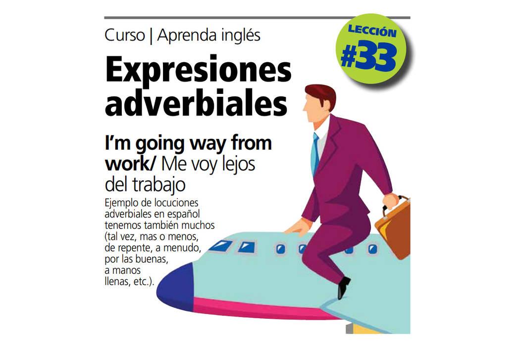 Lección de inglés #33. Foto El Tiempo.