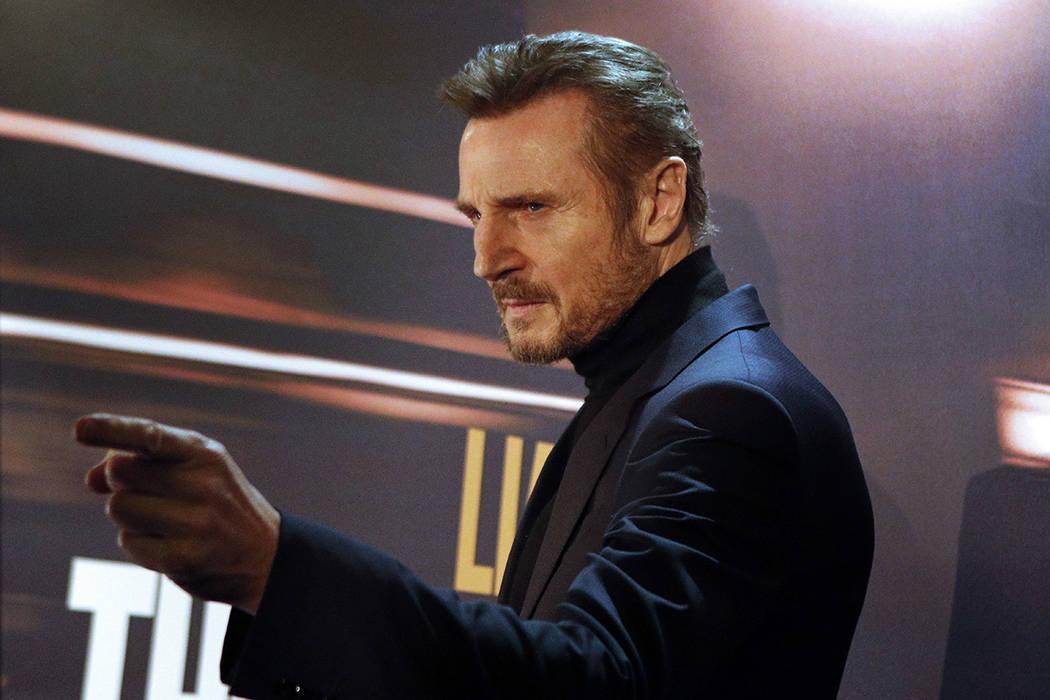 Liam Neeson.   Foto AP /Francois Mori.