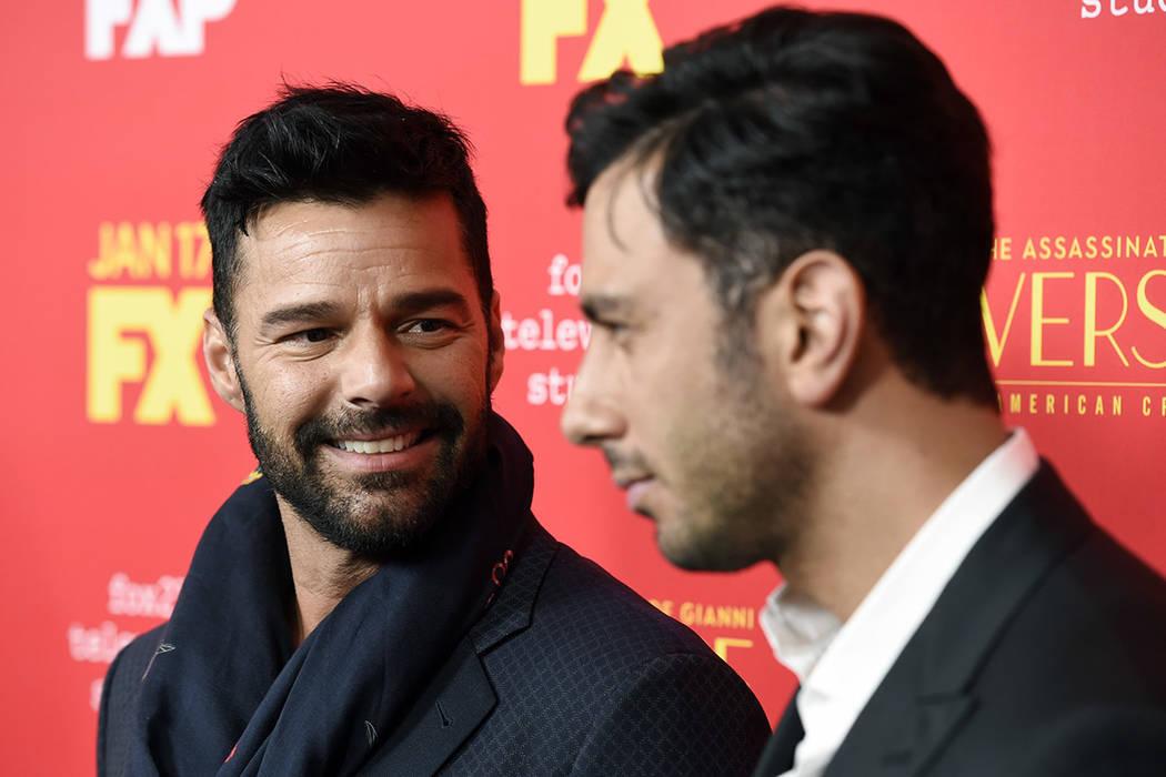 Ricky Martin y Jwan Yosef. | Foto  Chris Pizzello/Invision/AP.