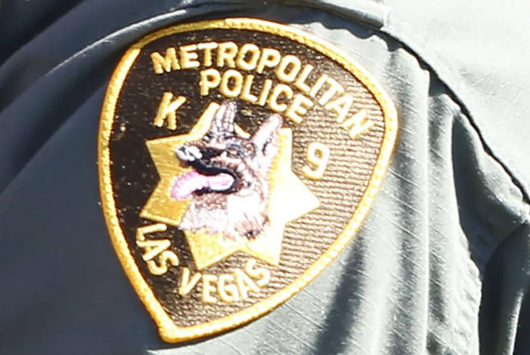 Departamento de Policía Metropolitana de Las Vegas, unidad Canina (Las Vegas Review-Journal)