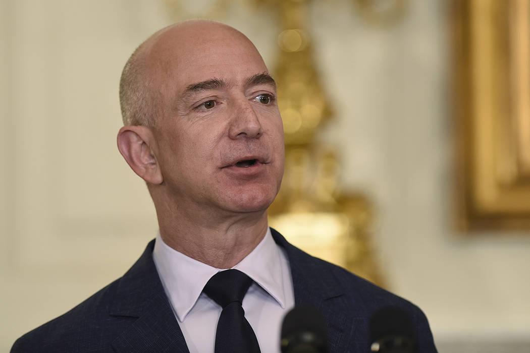 Jeff Bezos, fundador y CEO de Amazon.com. | Foto AP Photo/Susan Walsh.