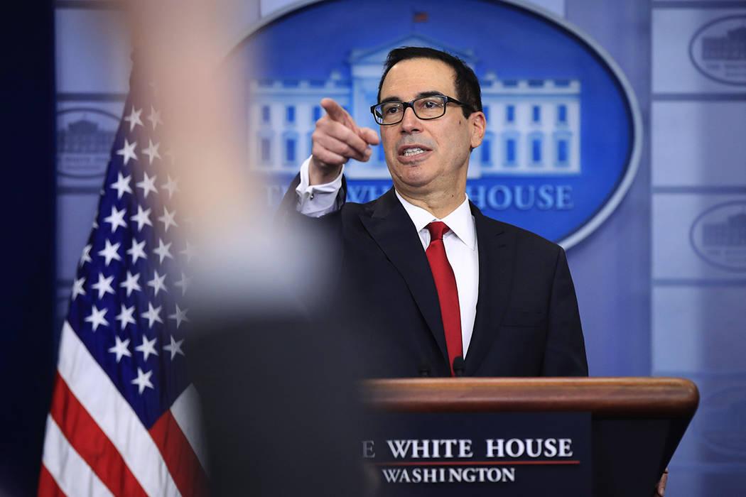 Secretario del Tesoro de EE.UU. Steven Mnuchin. | Fotot AP /Manuel Balce Ceneta.