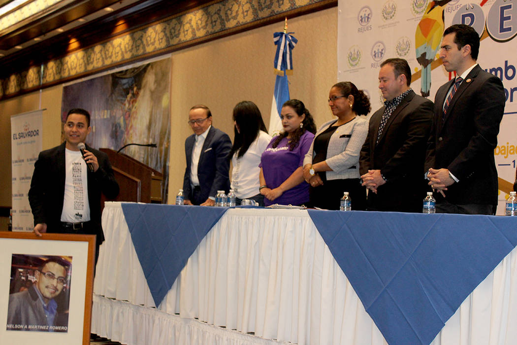 La Cumbre fue dedicada al joven Nelson Romero quien falleció 2 días antes del evento. 13 de enero del 2018 en Sams Town Casino. | Foto Cristian De la Rosa / El Tiempo.