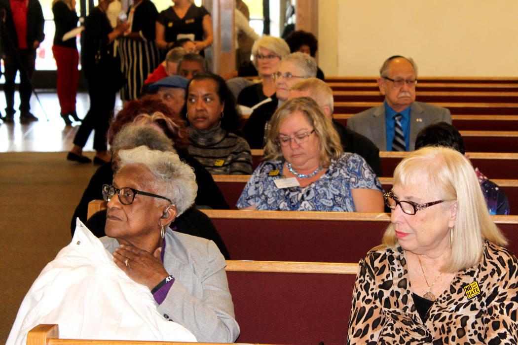 Sin importar religión o color, se celebró el natalicio de MLK. 14 de enero de 2018 en Primera Iglesia Episcopal Africana. Foto El Tiempo.