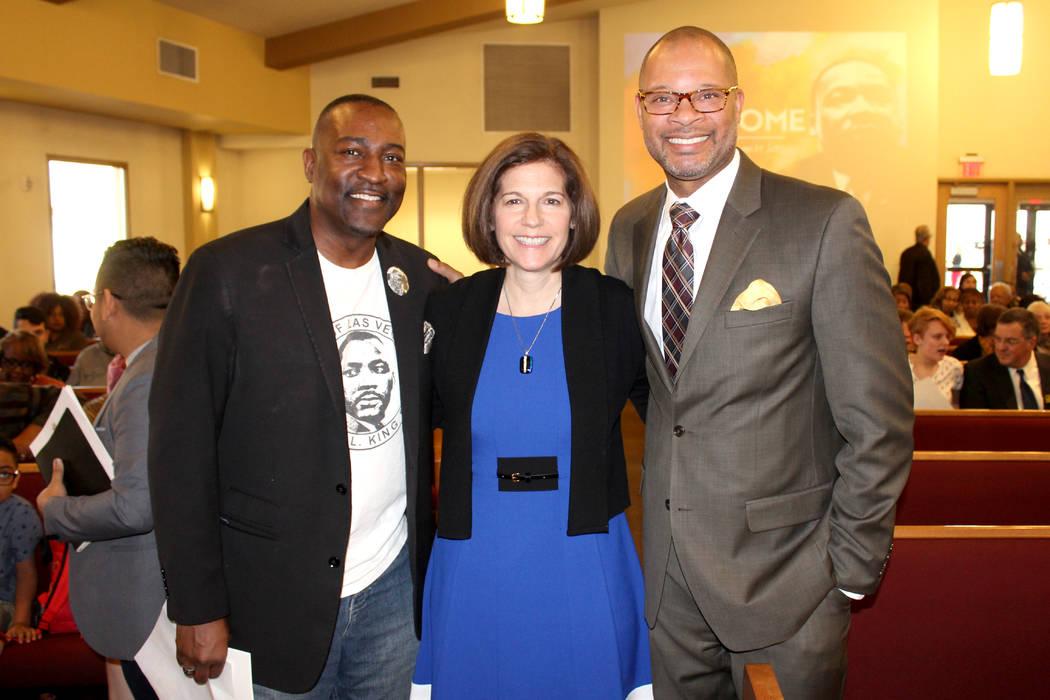 Políticos reconocidos de Nevada asistieron al evento en la Iglesia. 14 de enero de 2018 en Primera Iglesia Episcopal Africana. Foto El Tiempo.