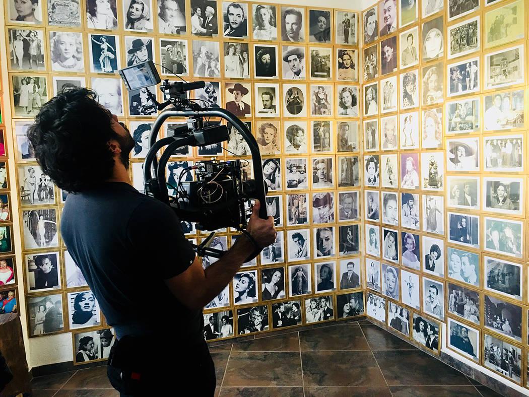 """ARCHIVO.- El director Sabino Alva realiza el documental biográfico del fallecido actor mexicano Luis Aguilar, titulado """"Luis Aguilar, el gallo giro"""", el cual también será secuencia de homen ..."""