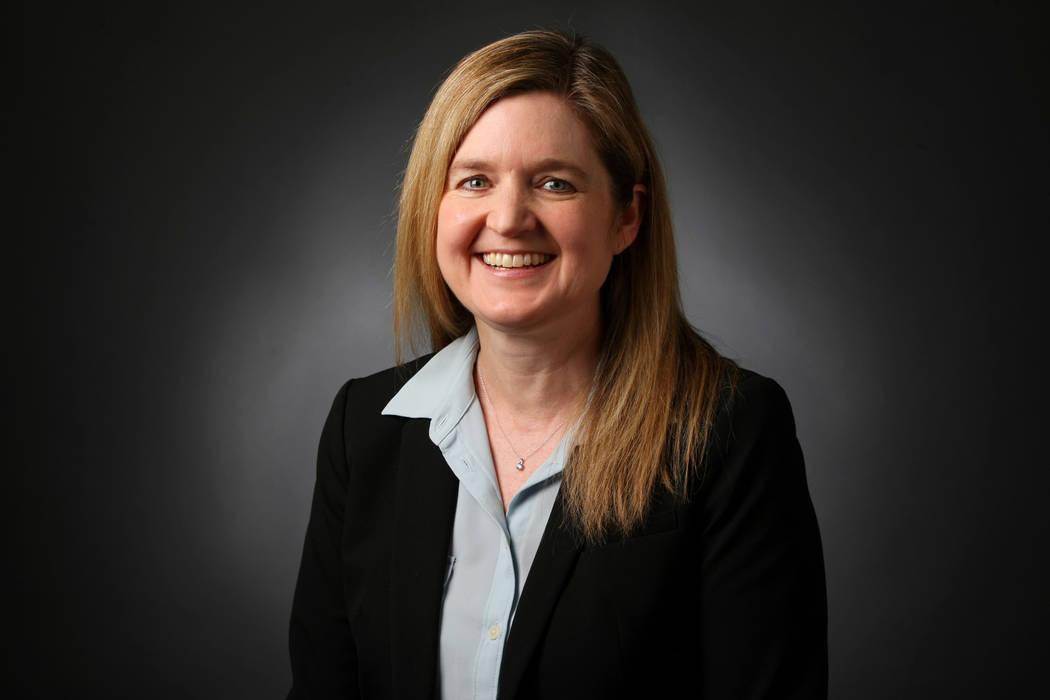 Carri Geer Thevenot, editor de metro de Las Vegas Review-Journal. (Elizabeth Brumley / Las Vegas Review-Journal) @EliPagePhoto
