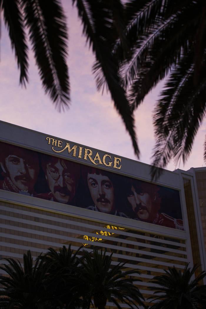 The Mirage en Las Vegas el sábado 3 de febrero de 2018. Chase Stevens Las Vegas Review-Journal @csstevensphoto