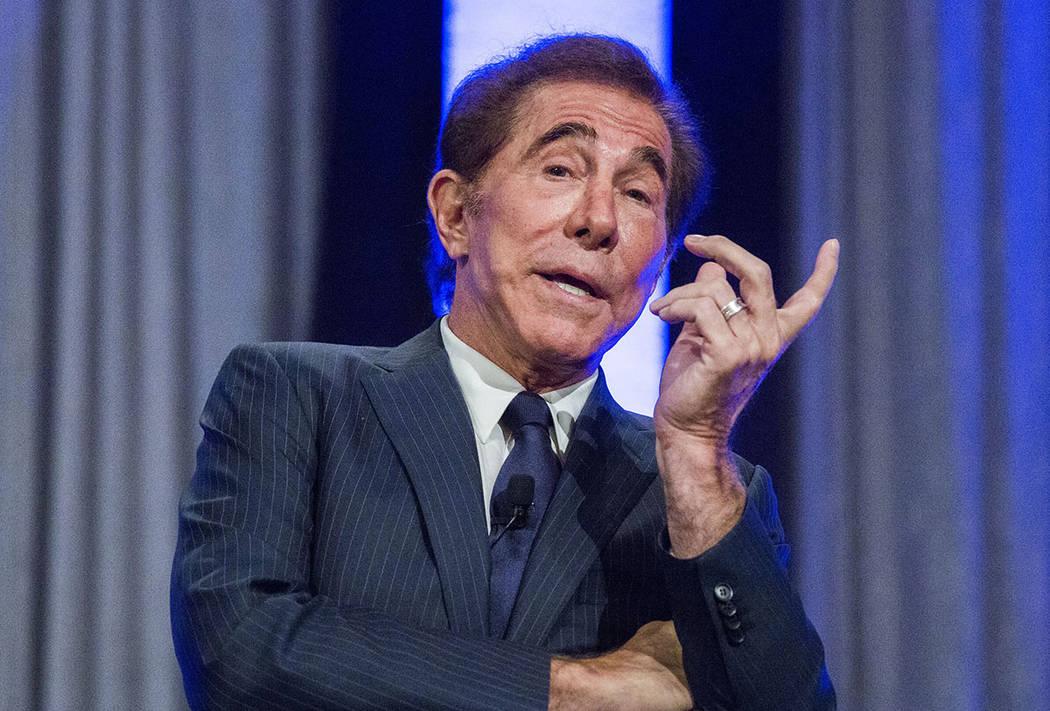 El desarrollador de resorts de casino Steve Wynn hablando durante la Conferencia Internacional sobre Toma de Riesgos en el Mirage el martes, 7 de junio de 2016. (Jeff Scheid / Las Vegas Review-Jou ...