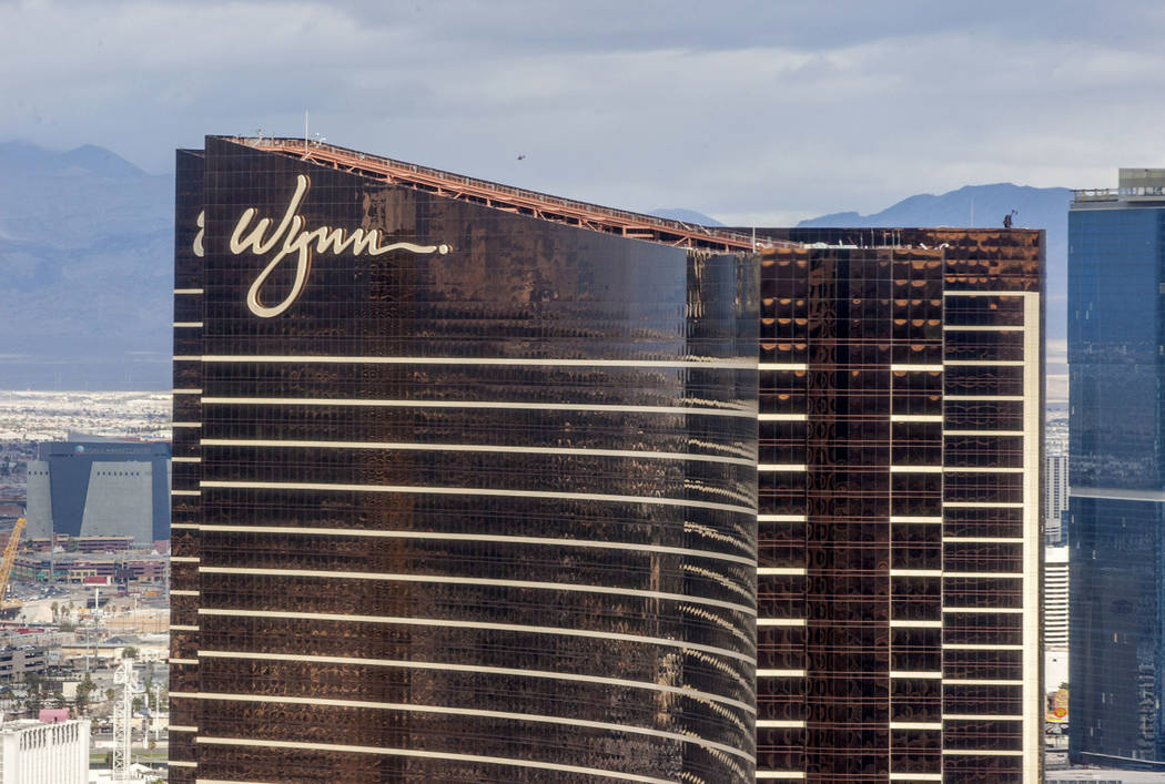 The Wynn Las Vegas el sábado, 20 de enero de 2018. (Patrick Connolly / Las Vegas Review-Journal) @PConnPie