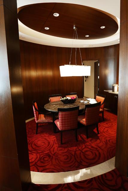 El hotel casino Aria Sky Suites en Aria el jueves 17 de marzo de 2016 en Las Vegas. Benjamin Hager / Las Vegas Review-Journal sigue @benjaminhphoto