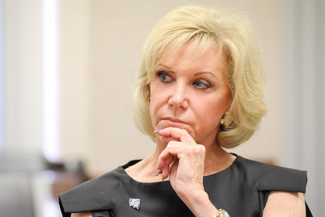 Elaine Wynn. (Mark Damon/Las Vegas Review-Journal archivo)