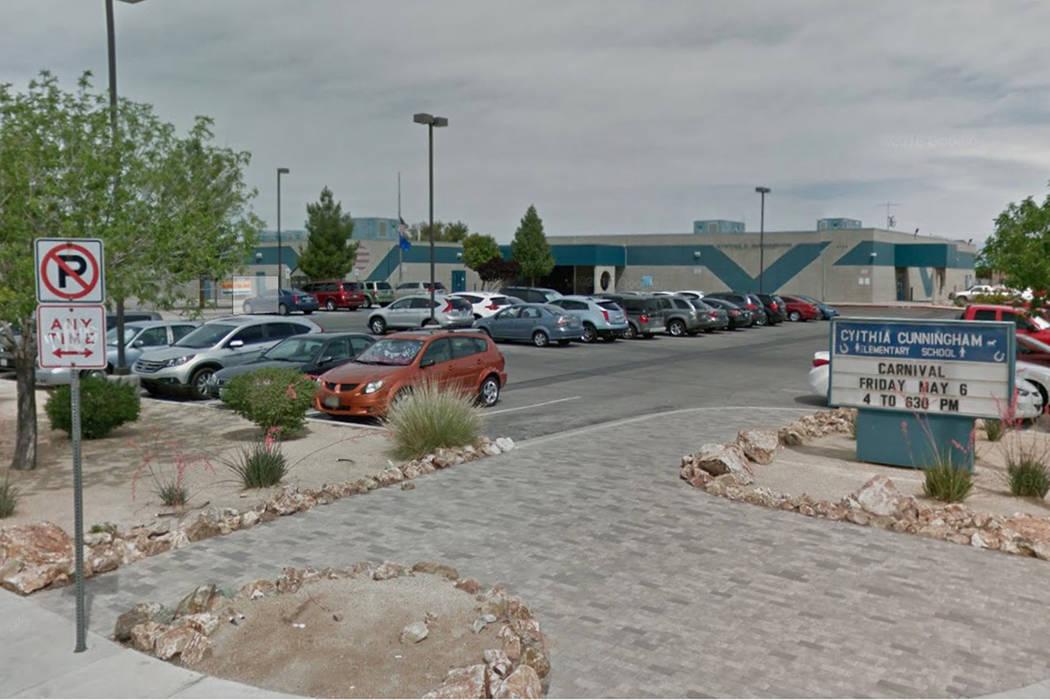 Una maestra de primer grado en una escuela primaria del este de Las Vegas fue arrestada por un cargo de abuso infantil, anunció la policía el miércoles. (Captura de pantalla / Google Maps)