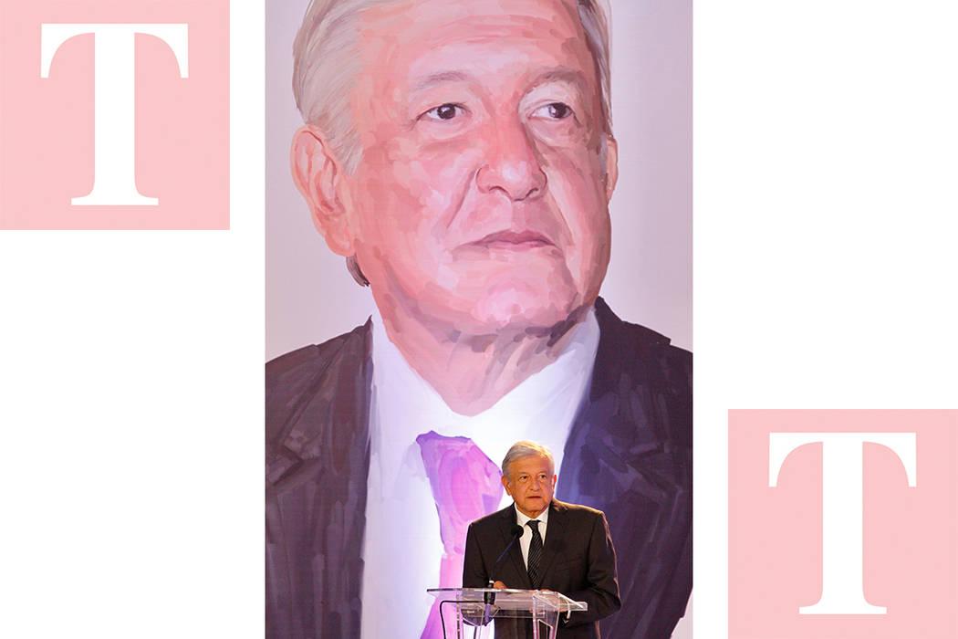 Andrés Manuel López Obrador. [Foto Notimex]