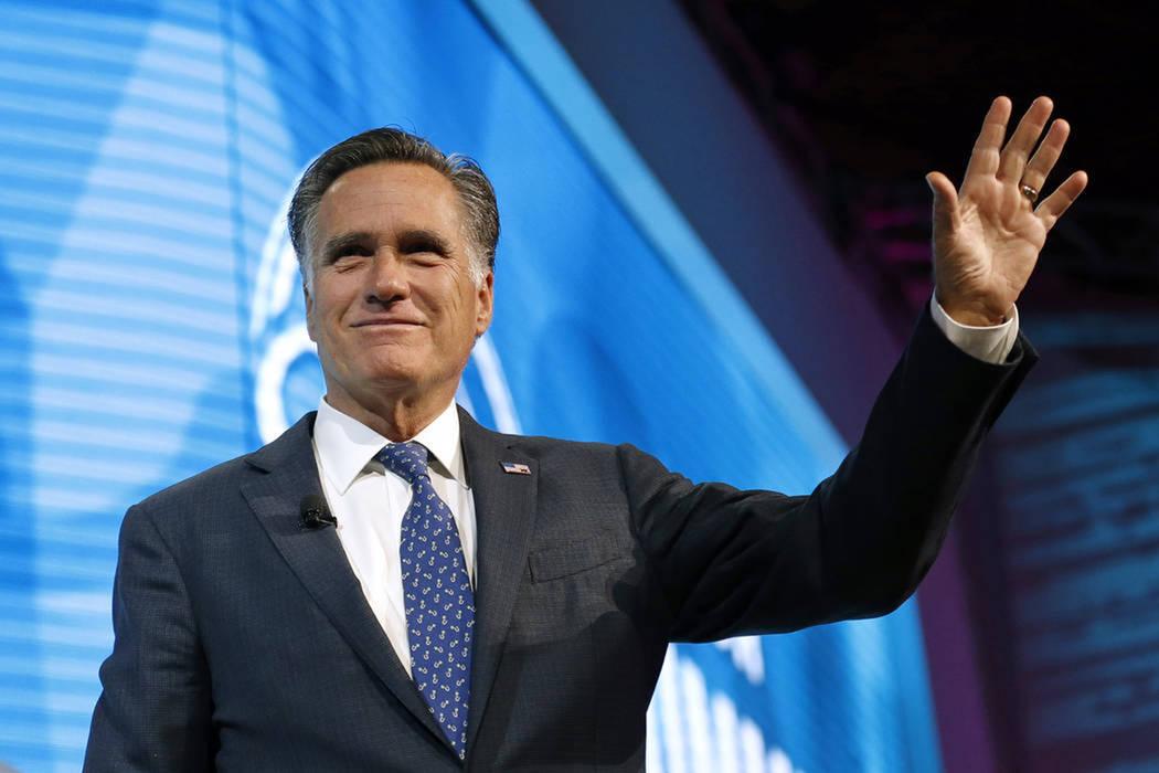 El excandidato presidencial republicano Mitt Romney anunció que buscará ser electo al Senado de Estados Unidos. [Foto AP]