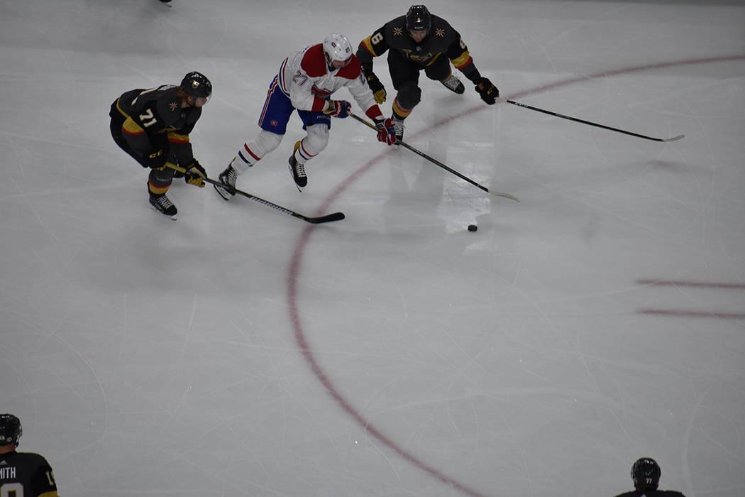 VGK derrotó por 3-6 a Montreal Canadiens. 17 de febrero de 2018 en T-Mobile Arena de Las Vegas. Foto Anthony Avellaneda / El Tiempo.