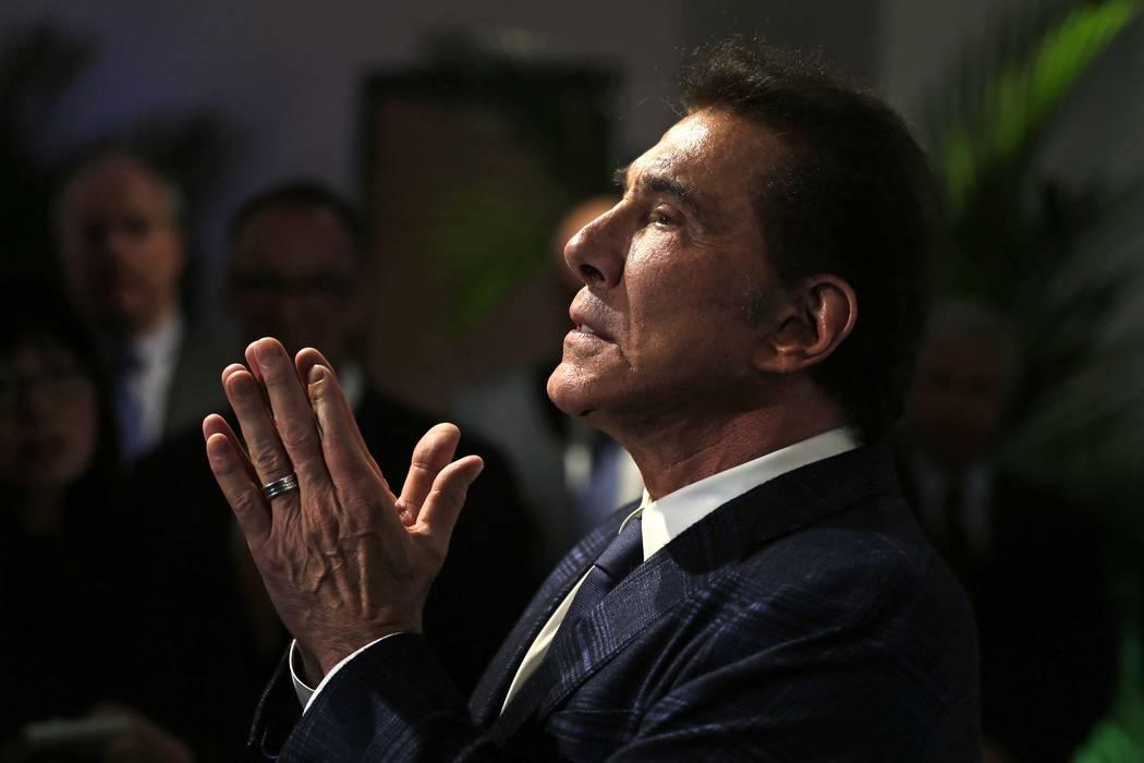 El magnate del casino, Steve Wynn, en una conferencia de prensa en Medford, Massachusetts, el martes 15 de marzo de 2016. (Charles Krupa / AP)