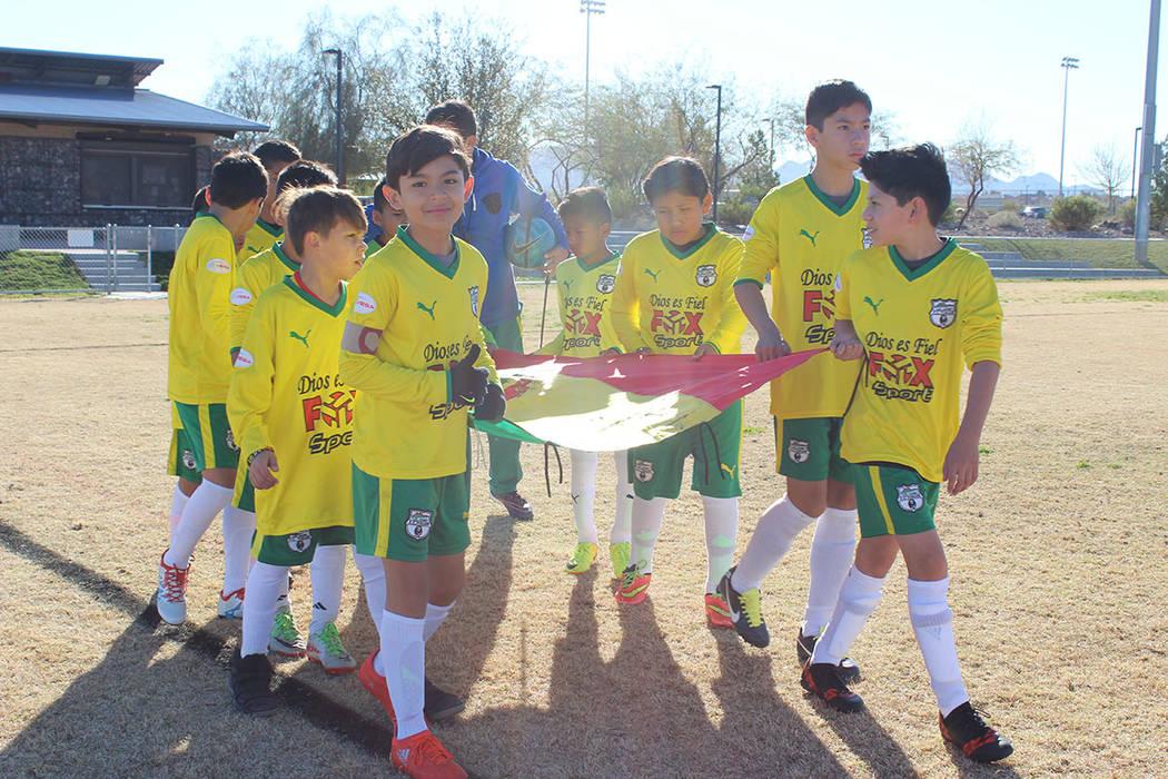 Los Bolivianos ganaron su partido ante Modesto California 2 a 1. 17 de febrero de 2018 en Heritage Park. Foto El Tiempo. [Foto Cristian De la Rosa / El Tiempo - Contribuidor]