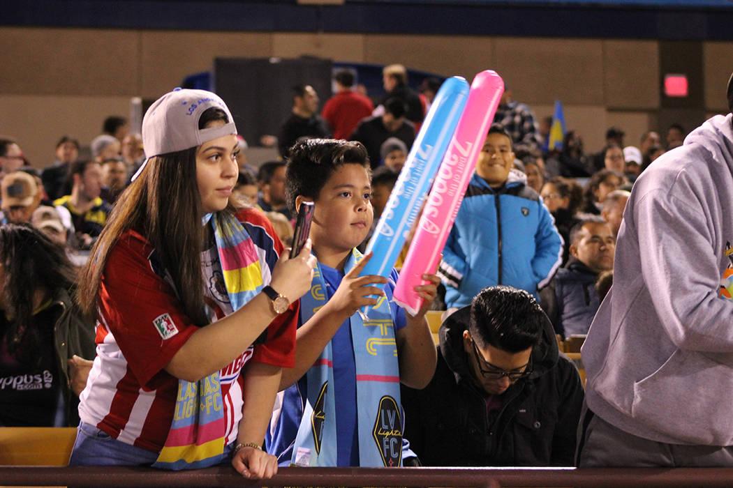 Las Vegas Lights 2-3 Vancouver Whitecaps. 17 de febrero de 2018 en Cashman Field. Foto Cristian De la Rosa/ El Tiempo - Contribuidor.