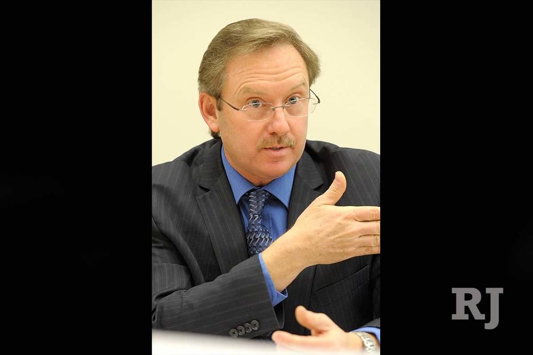 Richard Derrick, asistente gerencial de la ciudad de Henderson y director financiero, ha sido elegido gerente interino de la ciudad. (Las Vegas Review-Journal)