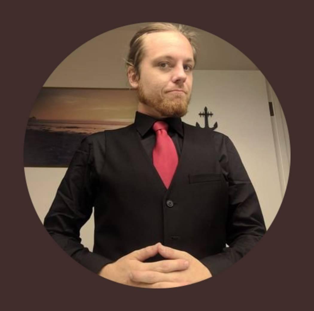 La foto de perfil de Twitter de Morgan Rockcoons, quien fue arrestado este mes en Las Vegas por cargos de lavado de dinero. (Gorjeo)