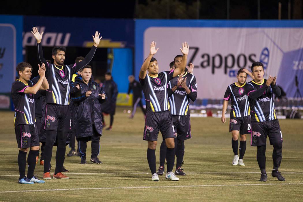 LV Lights FC cerró su pretemporada con tres derrotas. Sábado 24 de febrero de 2018 en estadio Cashman. [Foto Erick Verduzco / Las Vegas-Review-Journal]