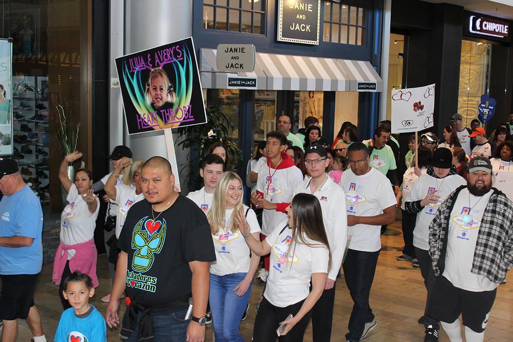 Fue la edición XV de la Caminata por el Corazón Infantil. Sábado 24 de febrero de 2018 en Fashion Show Mall. Foto Cristian De la Rosa / El Tiempo - Contribuidor.