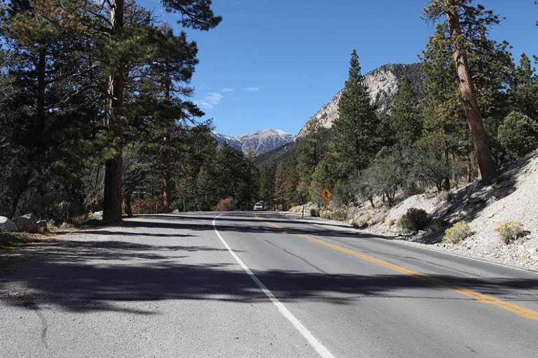 Carretera Kyle Canyon (Pahrump Valley Times)