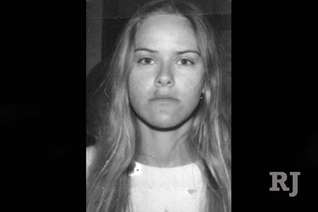 Jessica Williams, de 21 años, cuya camioneta salió de la autopista y mató a seis adolescentes que estaban limpiando la mediana de la I-15 el 19 de marzo de 2000. (Las Vegas Review-Journal, archivo)