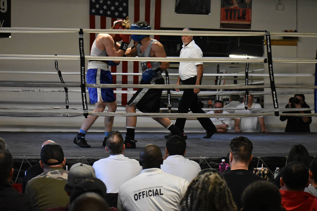 Decenas de personas asistieron para apoyar el boxeo amateur. Sábado 24 de febrero en City Boxing Club. Foto Anthony Avellaneda / El Tiempo.