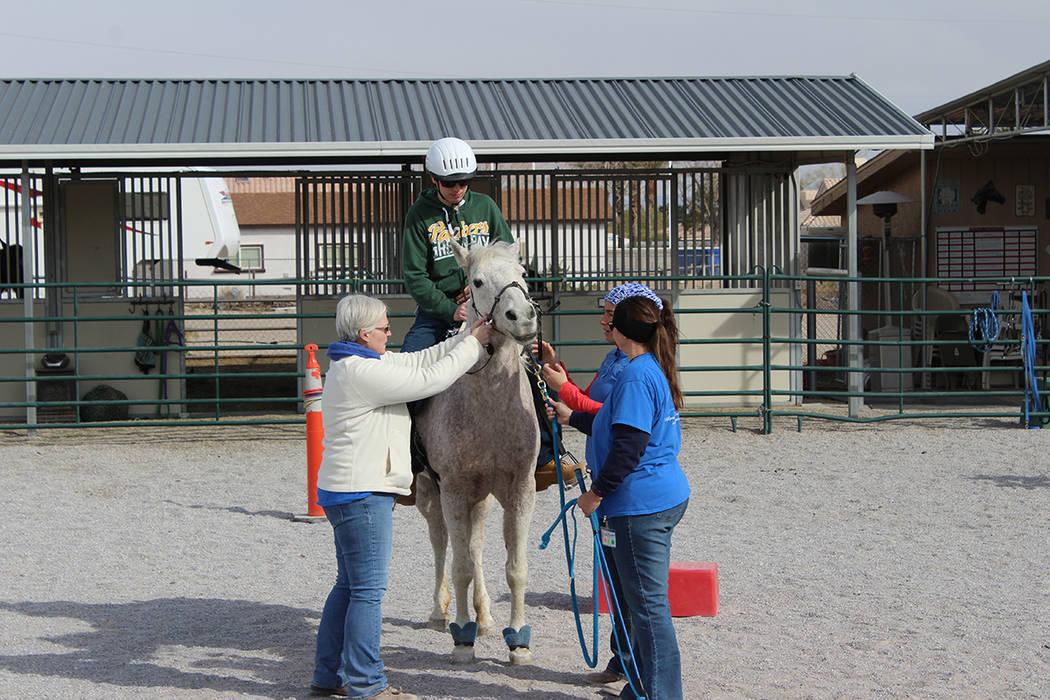 Spirit obtiene sus caballos de refugios o donados de personas que ya no pueden mantenerlos. Miércoles 28 de febrero de 2018 en Equinoterapia Spirit. Foto Cristian De la Rosa / El Tiempo.