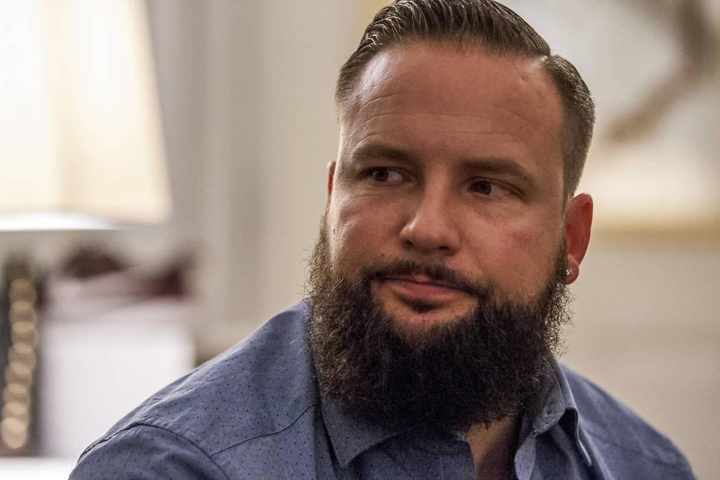 William King, un superviviente del tiroteo del festival Route 91 Harvest, en su casa de Summerlin el miércoles 31 de enero de 2018. Patrick Connolly Las Vegas Review-Journal @PConnPie