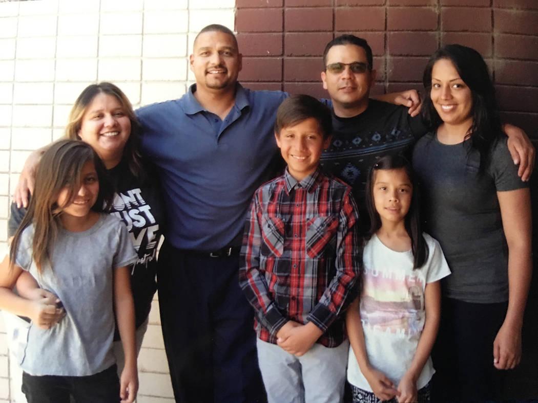 Marco Sánchez ha recibido la visita de sus familiares en la prisión de Carson City, Nevada. Foto Cortesía.