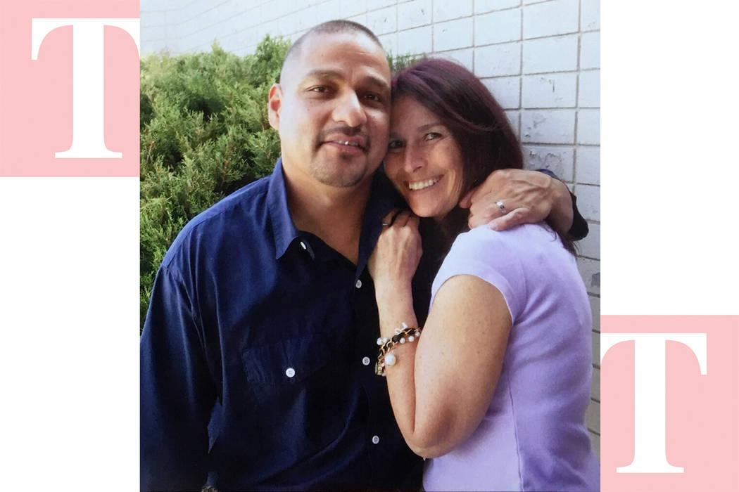 Marco Sánchez junto a su prometida Amy, quien ha sido un apoyo importante en este caso legal. Foto Cortesía.