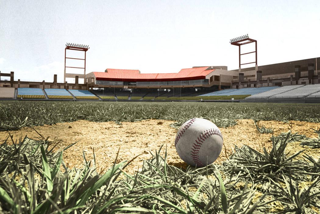 Cashman Field en Las Vegas (Wayne Kodey / Las Vegas Review-Journal)