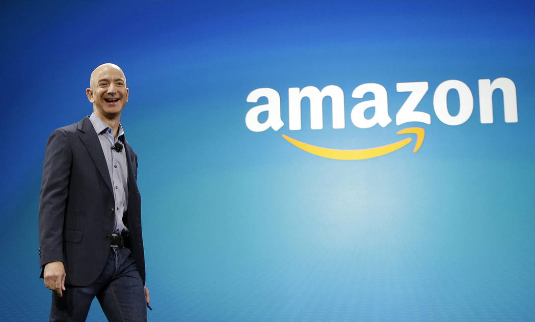 ARCHIVO - En esta foto de archivo del 16 de junio de 2014, el CEO de Amazon Jeff Bezos en Seattle. (AP Photo / Ted S. Warren, Archivo)
