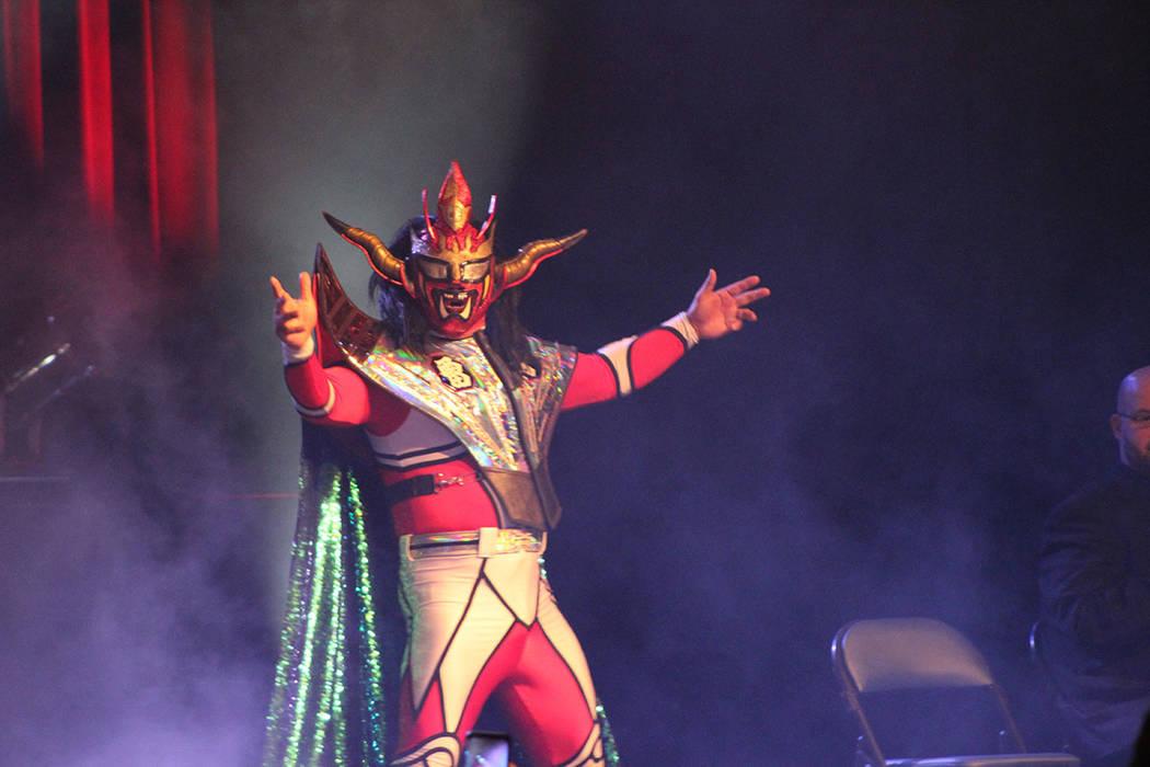 Liger llegó desde Japón a Las Vegas. Domingo 11 de marzo del 2018 en Cannary Casino. Foto Cristian De la Rosa / El Tiempo - Contribuidor.