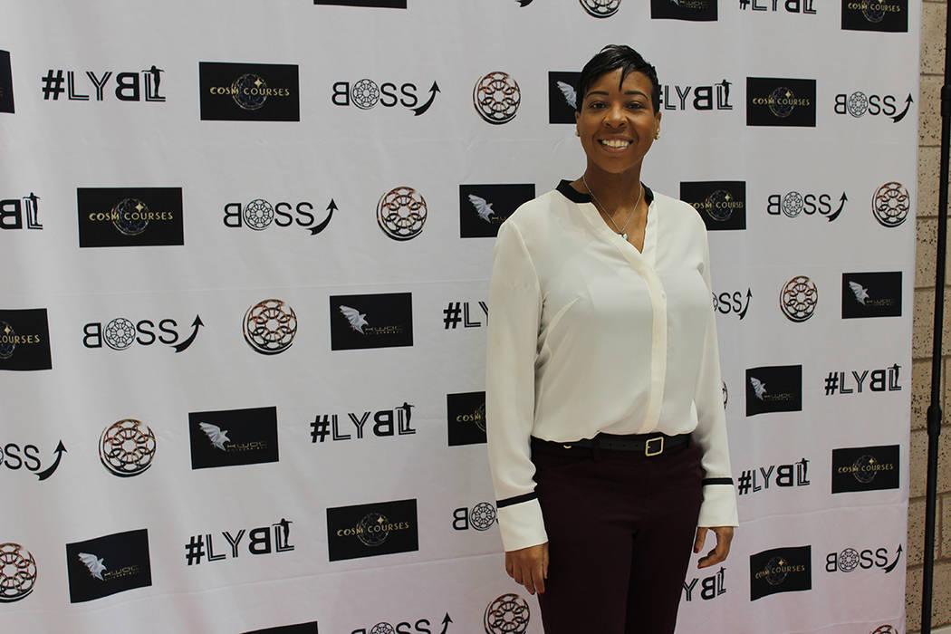 Dolo Bazzle, organizadora, comentó que debe haber mujeres en puestos de liderazgo privado y de gobierno para terminar con la desigualdad salarial. Domingo 11 de marzo del 2018 en Cannary Casino.  ...