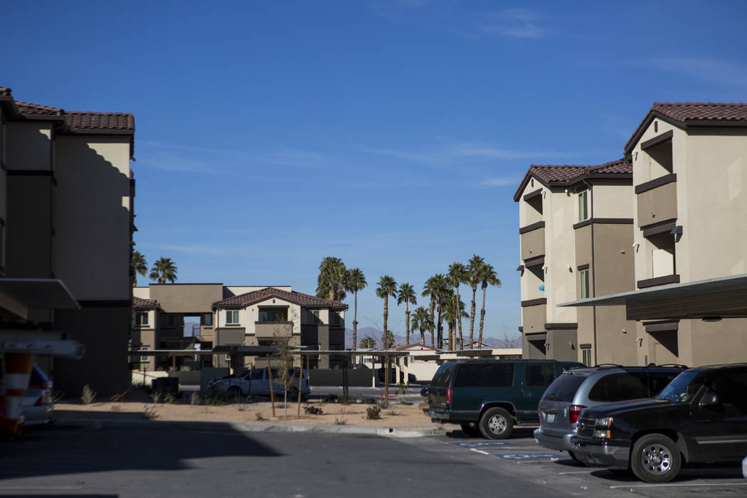 Boulder Pines Family Apartments en Boulder Highway en Las Vegas el viernes 2 de febrero de 2018. (Patrick Connolly / Las Vegas Review-Journal) @PConnPie