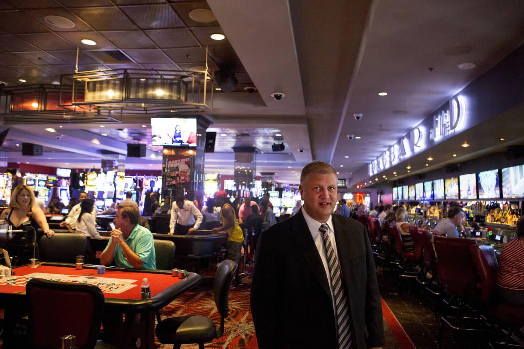 Derek Stevens, copropietario del D hotel-casino, en el centro de Las Vegas, lunes, 12 de junio de 2017. Elizabeth Brumley / The Las Vegas Review-Journal