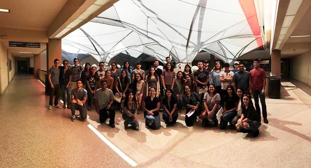 The Latino Pre-Medical Student Association es una organización estudiantil de UNLV que cuenta con cerca de 50 integrantes. Foto Cortesía.