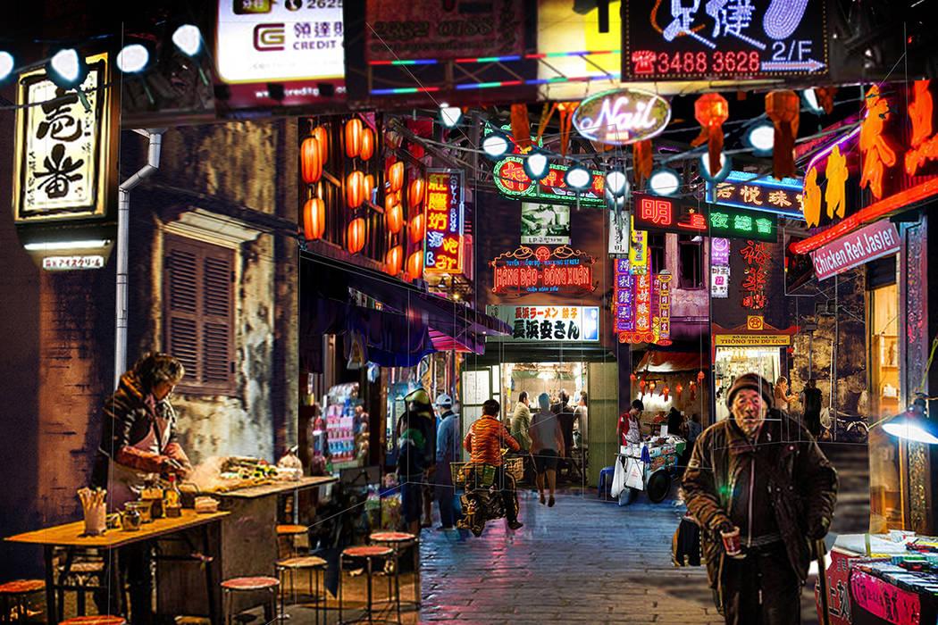 Kind Heaven contará con comida de vendedores ambulantes para imitar los mercados de Singapur y Bangkok. La atracción abre en 2019. Kind Heaven